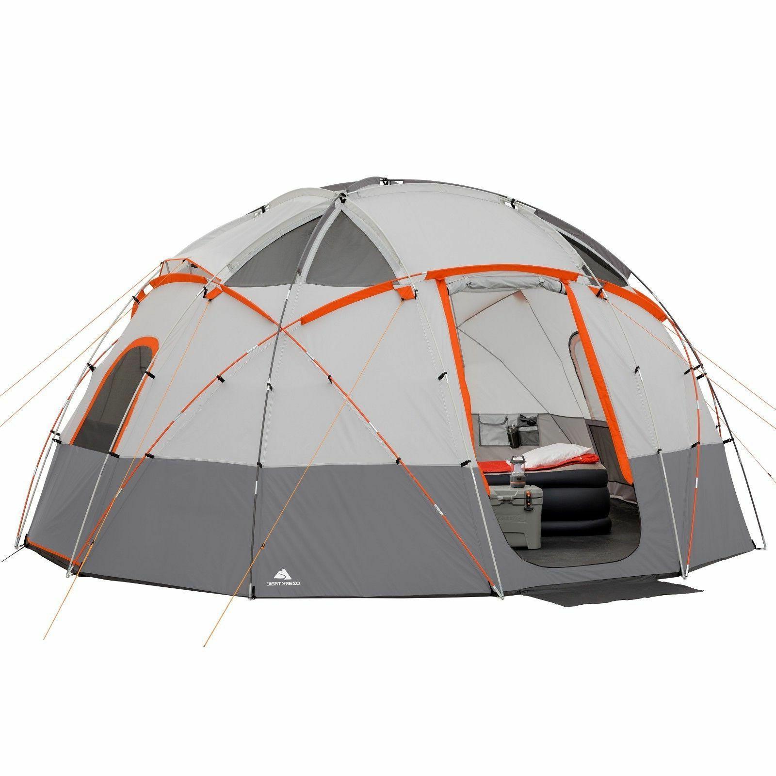 ozark dome trail 12 person base camp