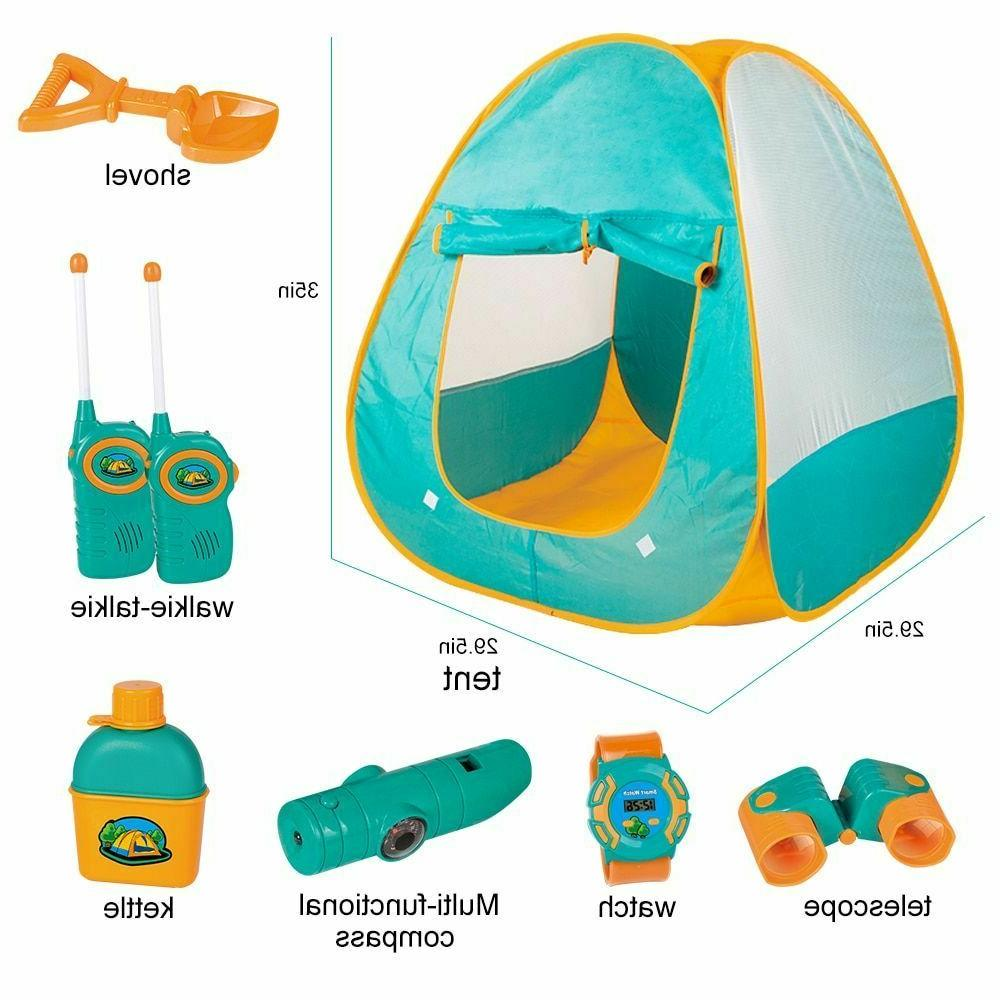 Play Tent For Girl Indoor Outdoor Playhouse