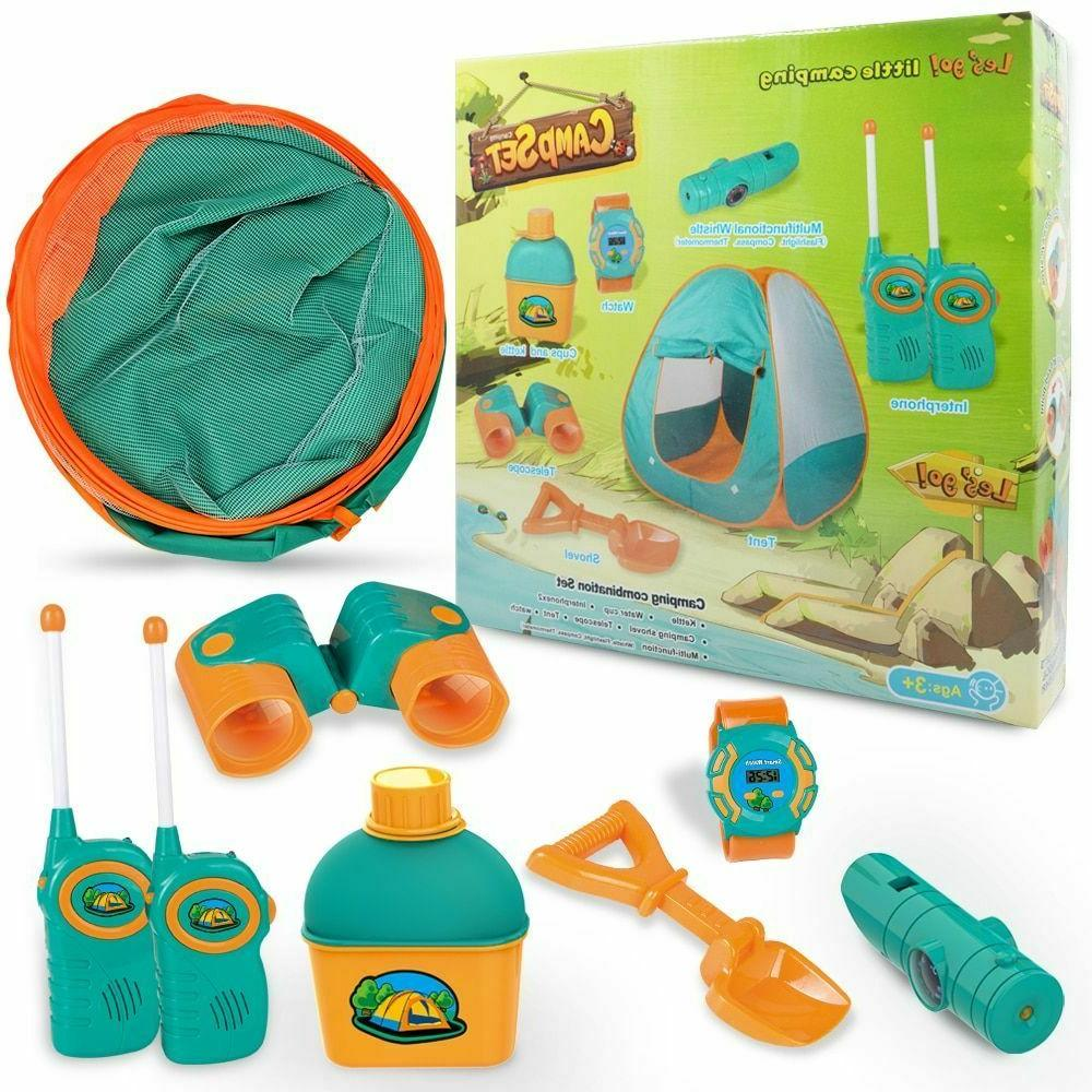 play tent camping kits for girl boy