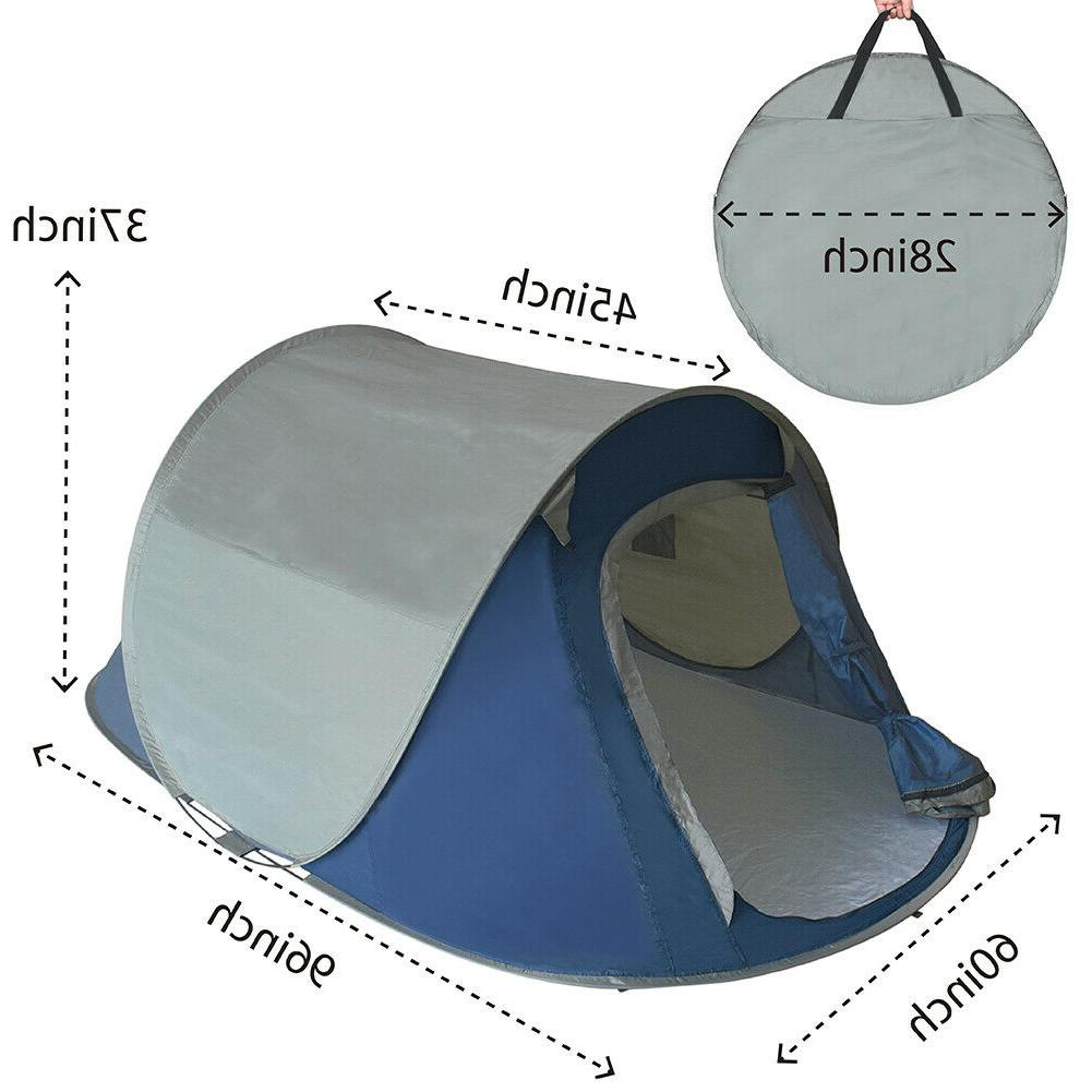 Pop Up Tent Automatic Family Camping for &