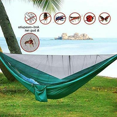 Portable Nylon Hammock With Double Outdoor Camping Travel Hike