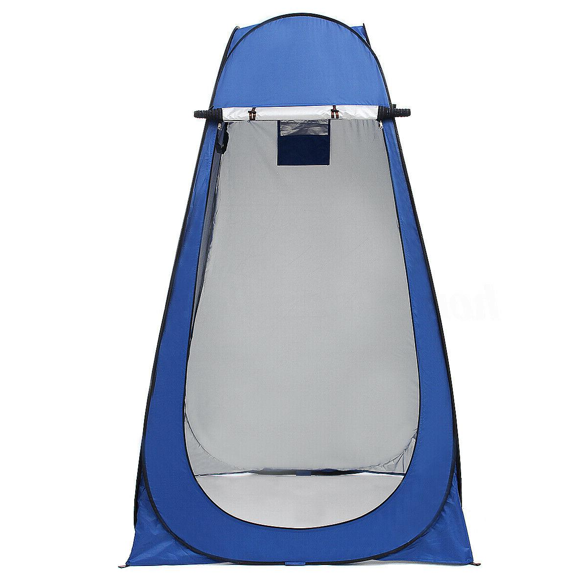Portable Outdoor Shower Tent Toilet Privacy Changing