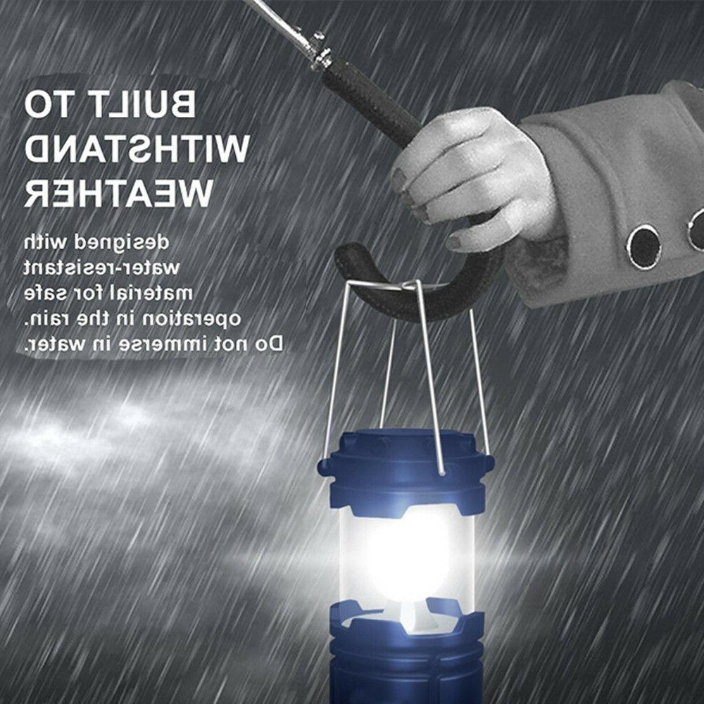 Rechargeable Hiking Tent Solar Lantern US STOCK