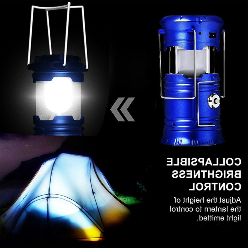 Rechargeable Camping Hiking Tent Lantern Torch