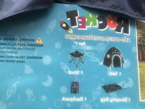 Rocket Camping Tent, Bag, Space