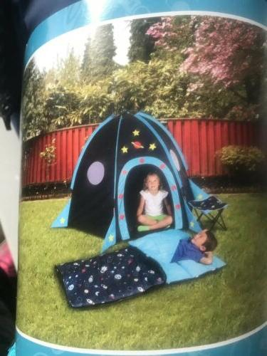 rocket 4 pc adventure camping kit tent