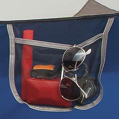 Camping Sundome 3-Person Navy Grey Windows With