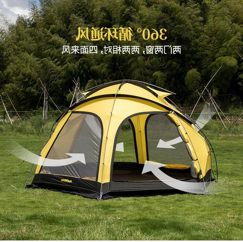 Naturehike for Family Team Large Camping 2 In Awning 8-10
