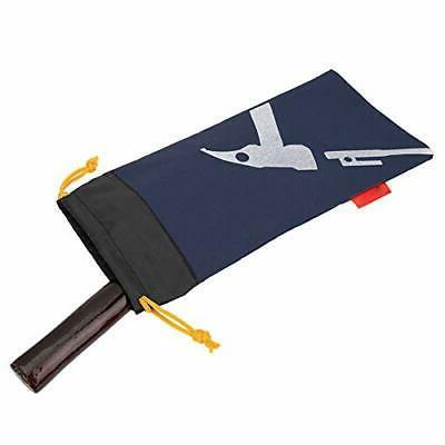 Alomejor Tent Peg Bag Camping Bag Hammer for