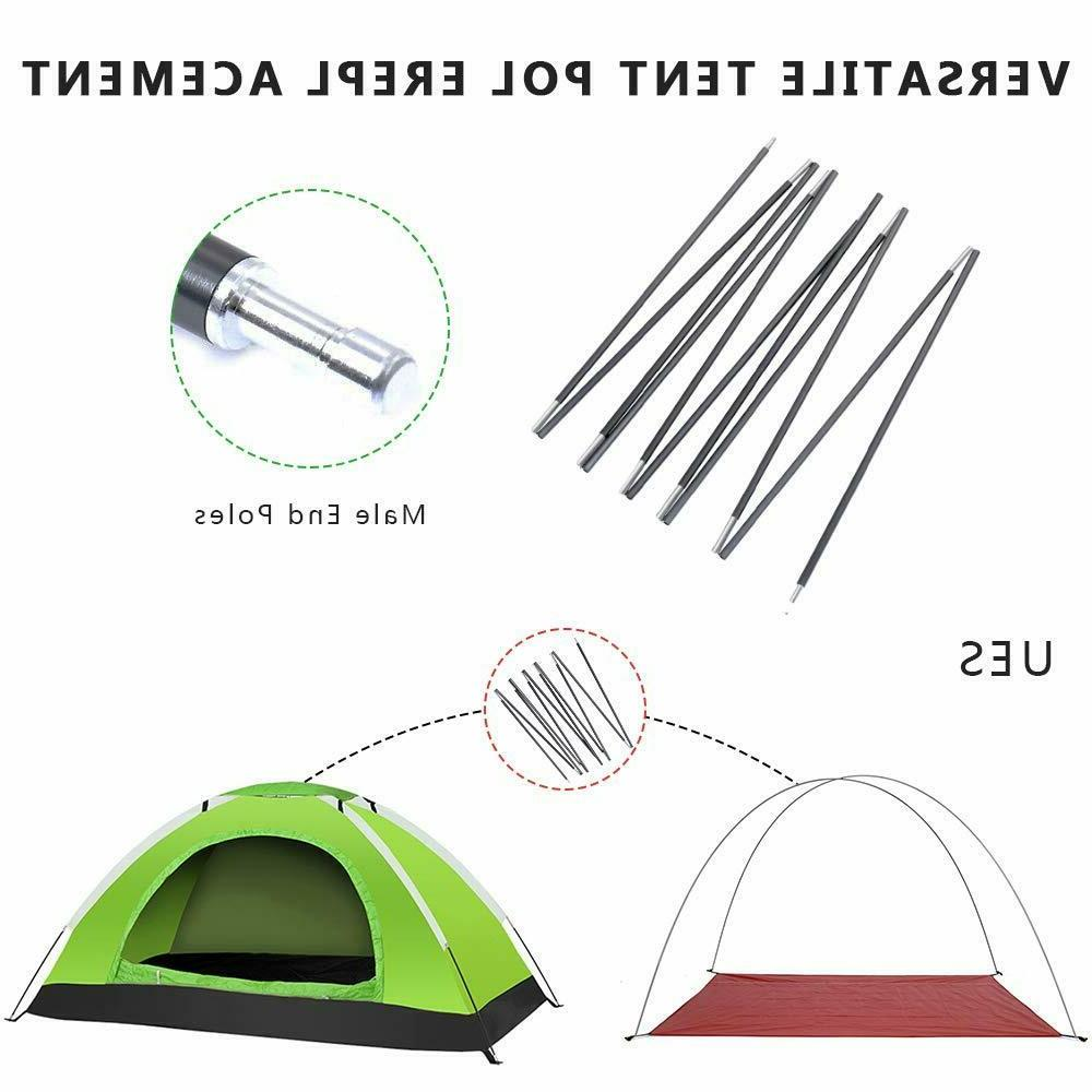 Ultralight Pole Camping Travel Support