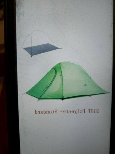upgraded cloud up 2 ultralight tent free