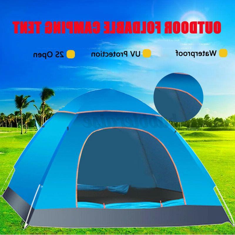 US Instant Up Auto Tent Waterproof +Bag