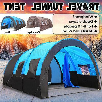 us 8 10 person super big camping