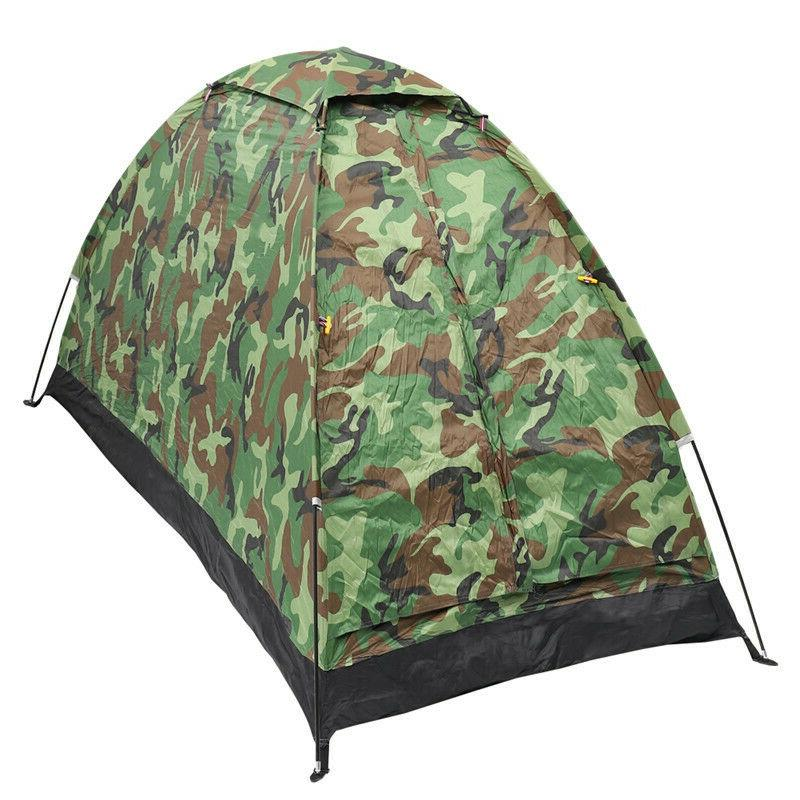 US 1 Person 4 Camping Hiking Waterproof Tent