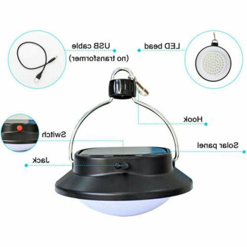 USB Solar Lamp Hook Tent
