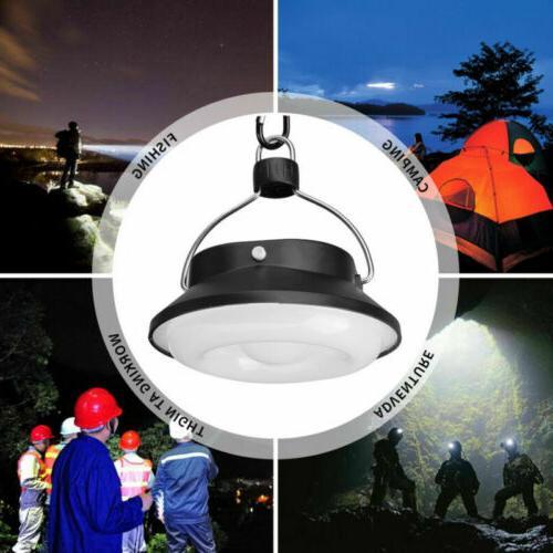 USB Portable Camping Light Solar Lantern Hook Tent Outdoor Fishing