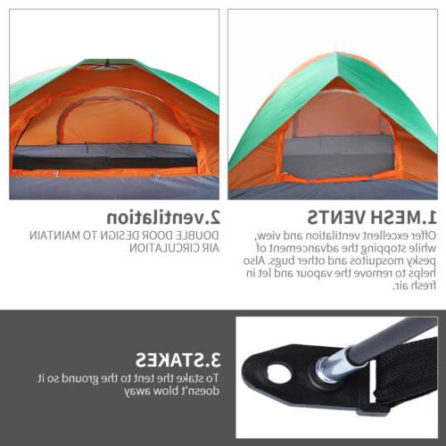 Waterproof Person Tent Automatic Quick Shelter