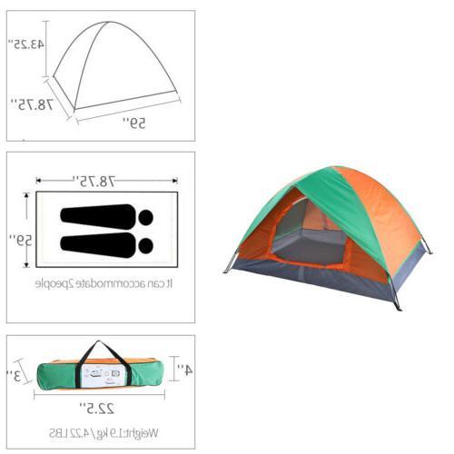 Waterproof Tent Quick Shelter Outdoor Hiking