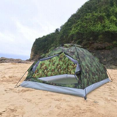 Portable Camping Camouflage 2 Person