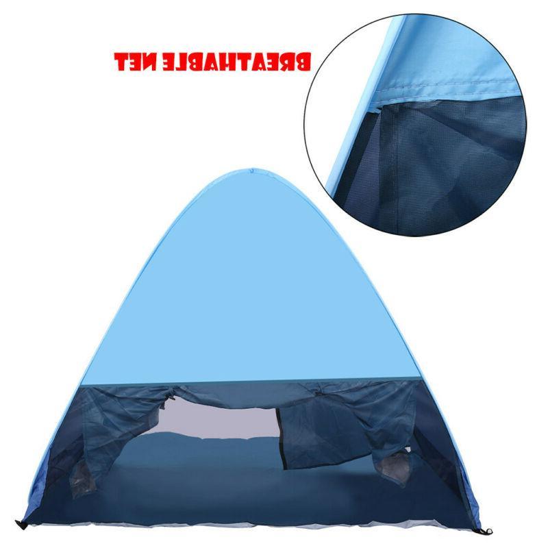 Waterproof 3-4 People Instant Pop Up Tent Hiking