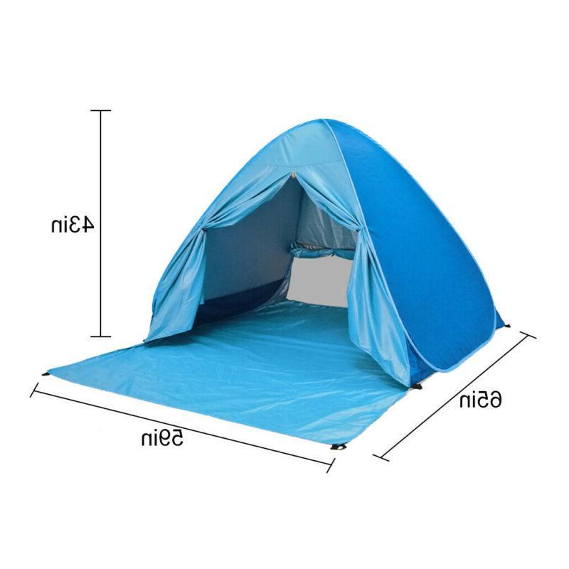 Waterproof 3-4 People Instant Tent