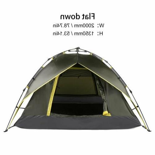Waterproof 3 Tent Automatic Folding Shelter