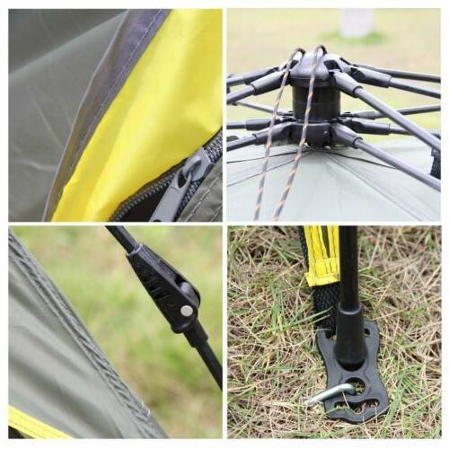 Waterproof Tent Automatic Folding Shelter Hiking