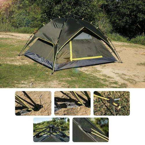 Waterproof Tent Automatic Quick Shelter Outdoor Hiking