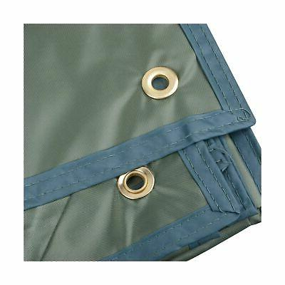 "Waterproof Camping Rain Fly Tarps Sunshade Mat Green 94.5"" 86.6"""