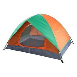 New 2 People Family Outdoor Waterproof Tent Camping Hiking w