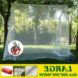 New Large Camping Mosquito Net Indoor Outdoor Insect Netting