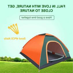 New Waterproof Camping Tents Outdoor Recreation Double Layer