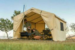 Ozark Trail North Fork 12' x 10' Wall Tent with Stove JackFa