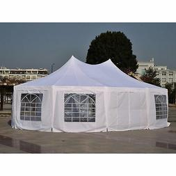 Outsunny 22' x 16' Large Octagon Outdoor Wedding Party Canop