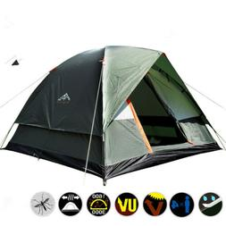 Oudoor Camping Tent Waterproof  Double Layers For 3-4 Person