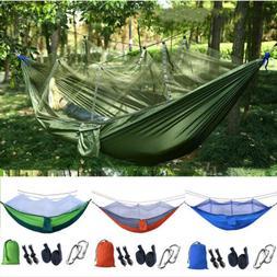 outdoor camping mosquito net hammock tent nylon