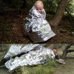 outdoor emergency tent blanket folding sleeping bag