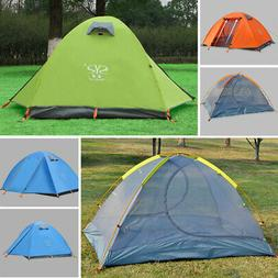 Outdoor Instant Pop Up Camping Dome Tent Hiking 2 Person Dou