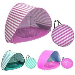 Pop Up Baby Beach Tent Waterproof Protect Sun Shelter for Ki