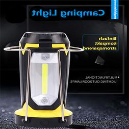 Portable LED Lamp for Camping Outdoor Lantern USB Camping Te