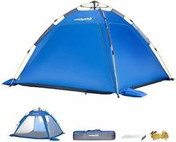 KingCamp Quick up 2-3 Person Camping Mesh Beach Tent, Sun Sh