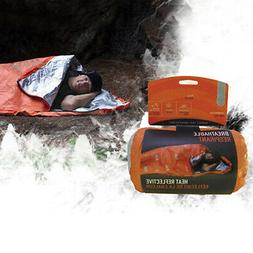 Reusable Emergency Sleeping Bag Survival Camping Tent Waterp