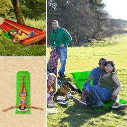 Self Inflatable Mat Sleeping Pad Camping Tent Air Mattress C