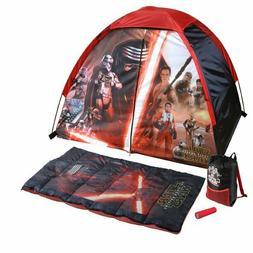 Disney Star Wars Kids Indoor/Outdoor Camp Kit Play Tent Slee