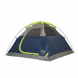 Coleman Sundome Outdoor 4 Person Tent Rain-fly, Camping, Qui