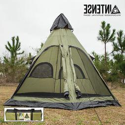 teepee camping tent family outdoor sleeping dome