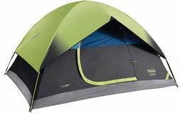 Tent Camping Coleman Dark Room 4 Person Weatherproof Durable
