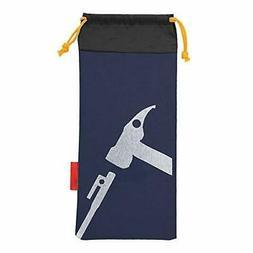 Alomejor Tent Peg Bag Camping Portable Tent Stakes Bag Hamme
