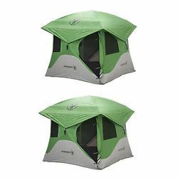 Gazelle Tents T3 6' Heavy Duty Pop Up Hub 3 Person Outdoor C