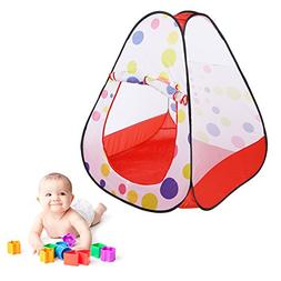 Jocestyle Children's Triangle Pop Up Play Tent Indoor Outd